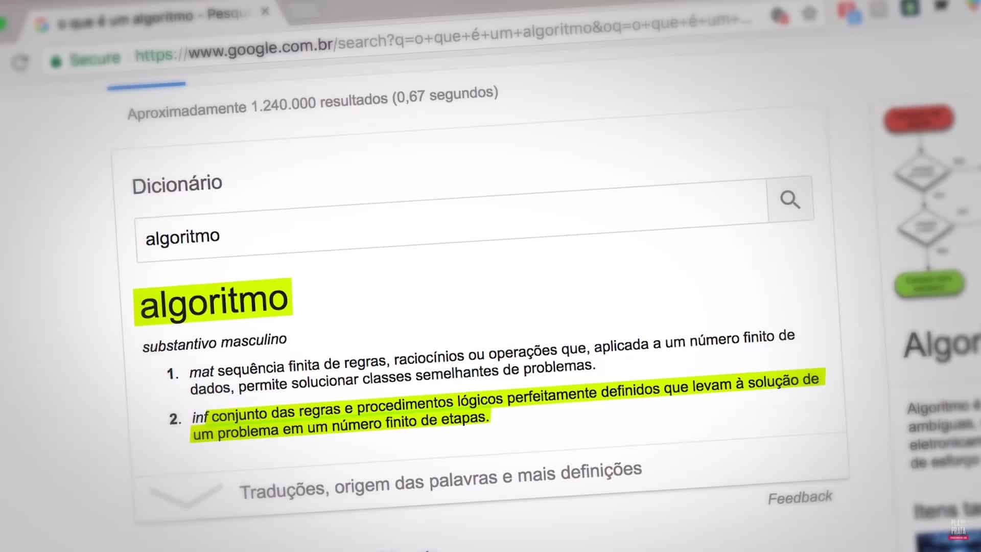 O que é um algoritmo - algoritmo do youtube