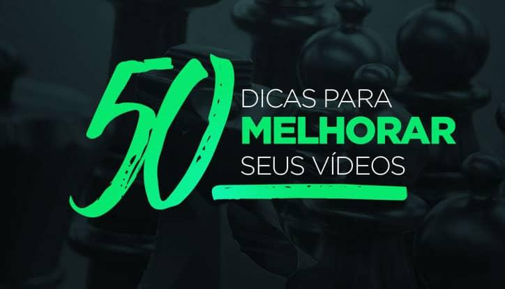 Curso online 50 dicas para melhorar seus vídeos