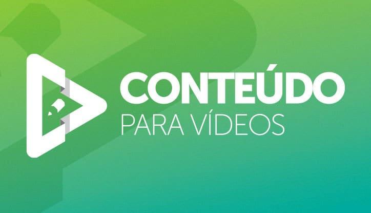 Curso online Conteúdo para vídeos