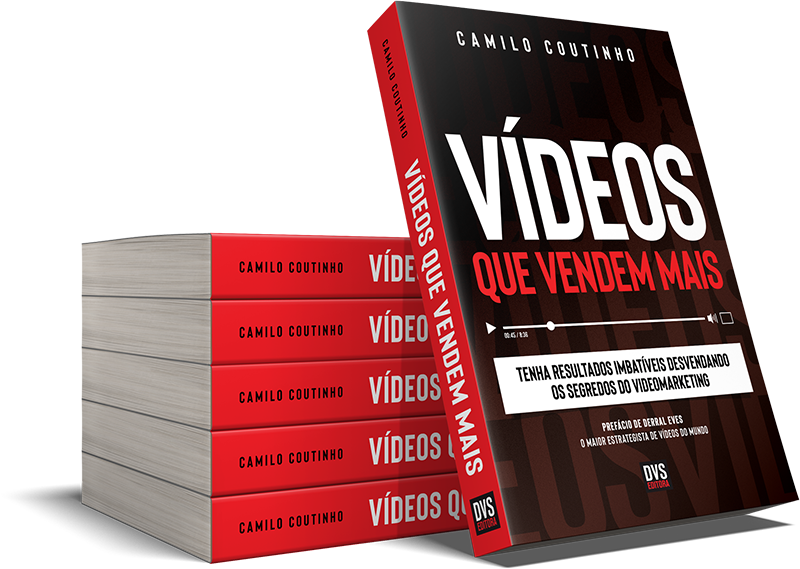 Pilha de livros Vídeos que vendem mais